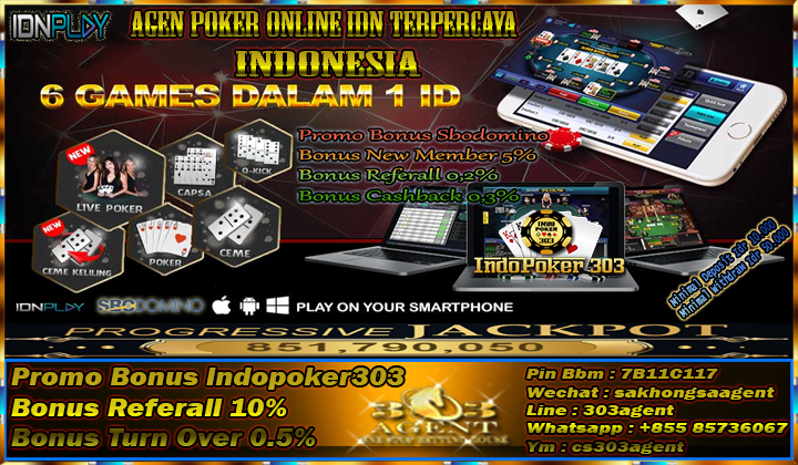 Agen Poker IDN | Situs Resmi Taruhan Poker Uang Asli Teraman | Poker Terpecaya